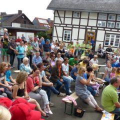 Viele Zuhörer bei unseren Zwischenstopps
