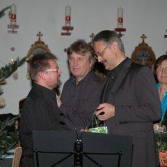 Ulrich Faatz (Stimmübungen), Christoph Hilfrich und Felix Altenheimer (2. Präsident SSB)