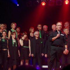 Georg Schlierbach begrüßt die Konzertgäste