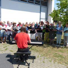 Luggi Jobst und die Sängervereinigung Waldgirmes