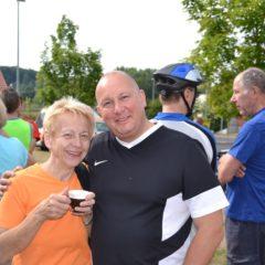 Margit Würz und Hans-Peter Stock machen Pause