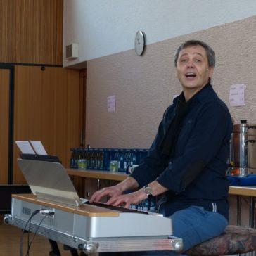 """Workshop """"Deutschsprachige Popmusik im Laienchor'"""" mit Prof. André Schmidt"""